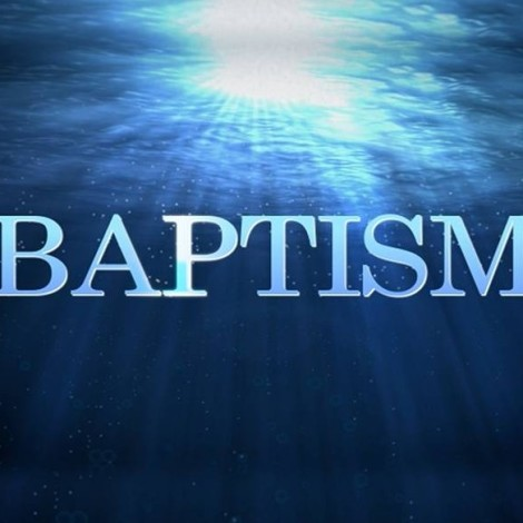 Baptism – Outward Showing of Inner Faith